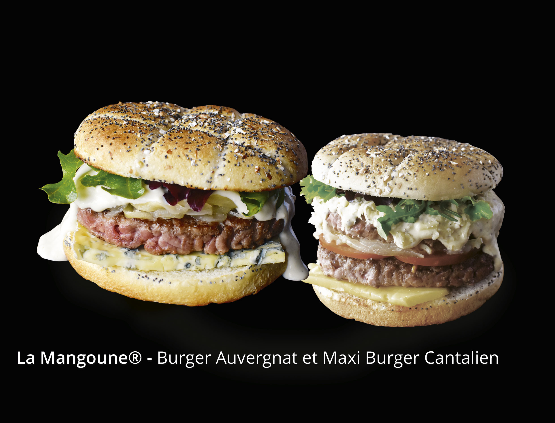 Burger Auvergnat et Maxi Burger Cantalien
