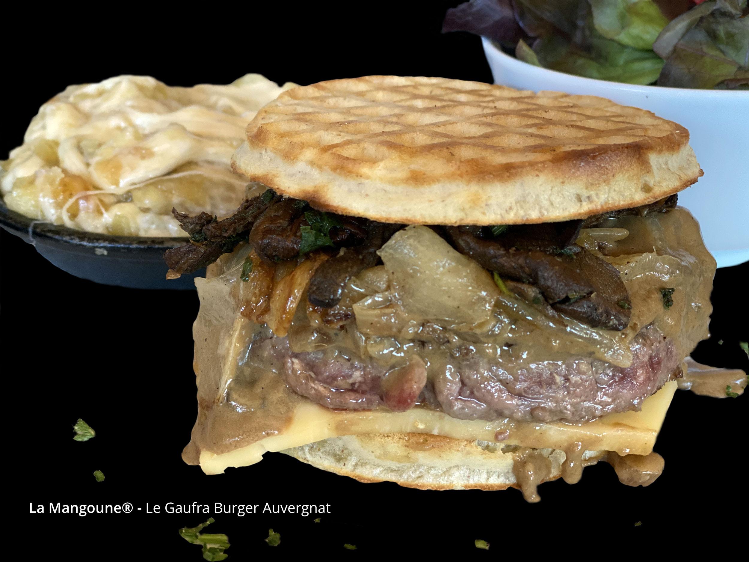 Le Gaufra Burger Auvergnat