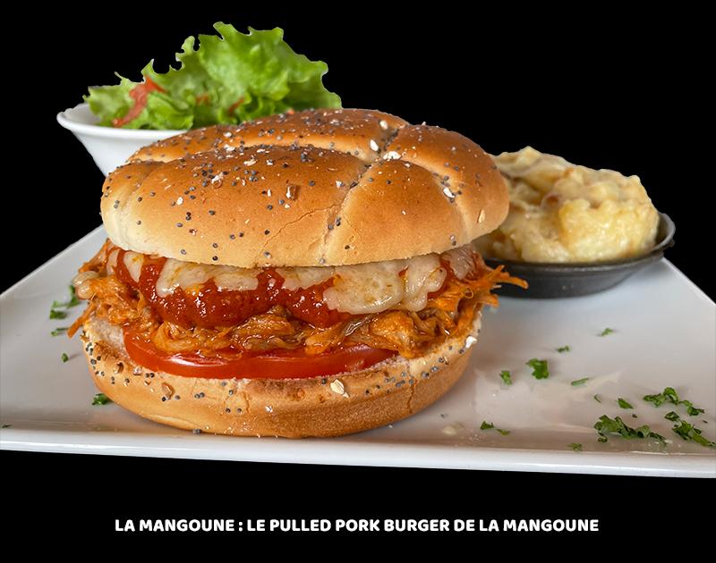 Le Pulled Pork Burger